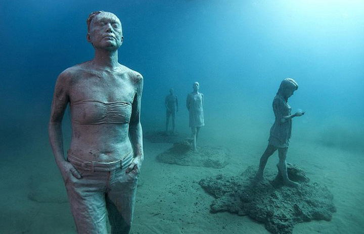 muzeu 1jpg S a deschis primul muzeu subacvatic din Europa