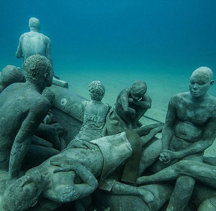 muzeu 2 1 S a deschis primul muzeu subacvatic din Europa