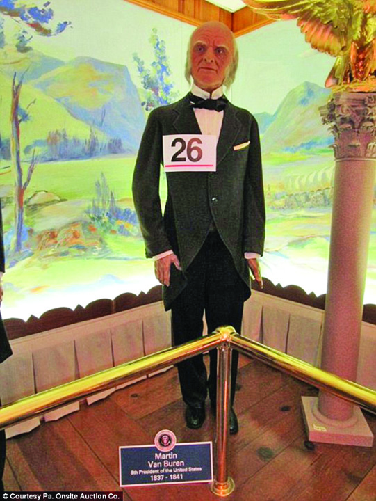 muzeu presedinti 1 Presedinti de vanzare