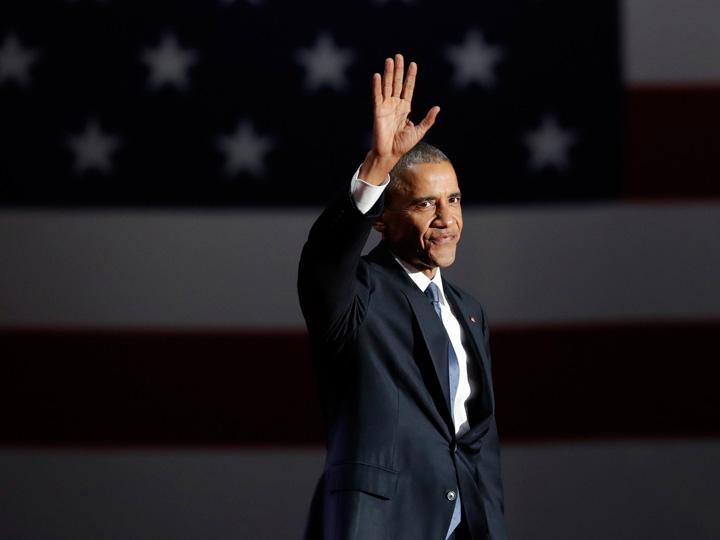 obama Obama pleaca in lacrimi