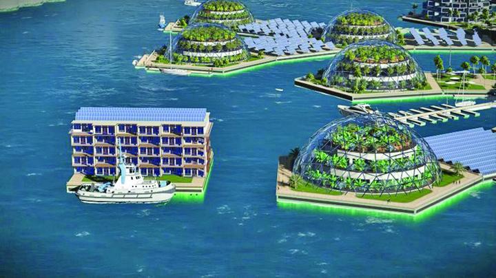 oras2 Primul oras plutitor se ridica peste doi ani