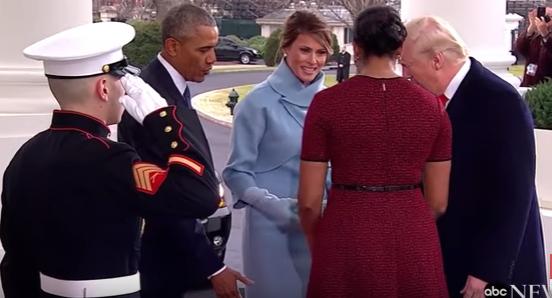 primire oficiala Predare de stafeta. Barack si Michelle Obama i au primit pe sotii Trump la Casa Alba (VIDEO)