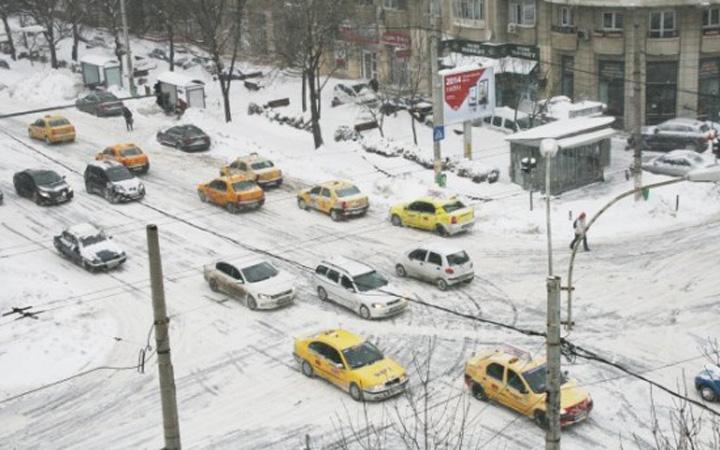 taxi Taximetristii, haiducii zapezii