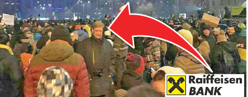 06 w07 Presedintele Raiffeisen, la protest!