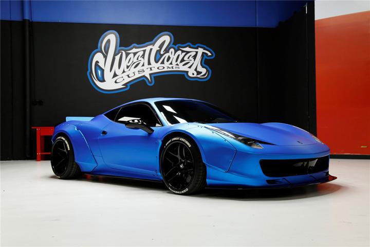 Ferrari 458 Justin Bieber 1 Bataie pe masina lui Justin Bieber