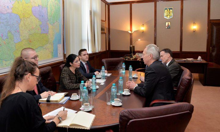 MAE5423 720x433 Sefa interimara de la Ministerul Justitiei, discutii cu ambasadorul SUA