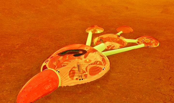 Marte 1 Emirii se muta pe Marte