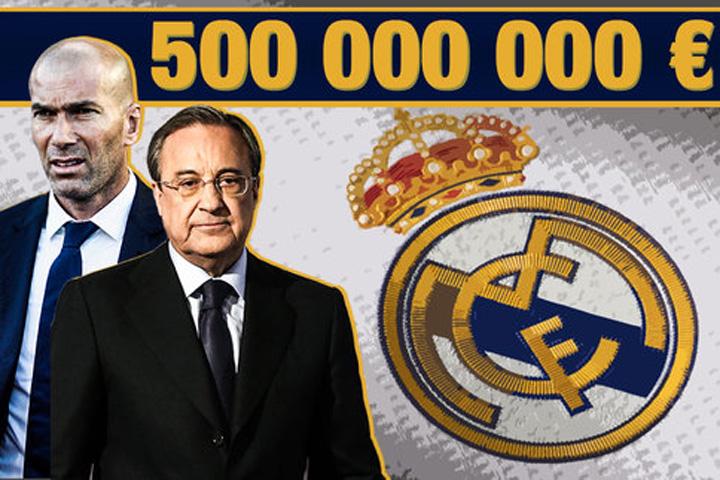 Perez Real w484 Real Madrid se vinde pe internet cu 500 milioane de euro!