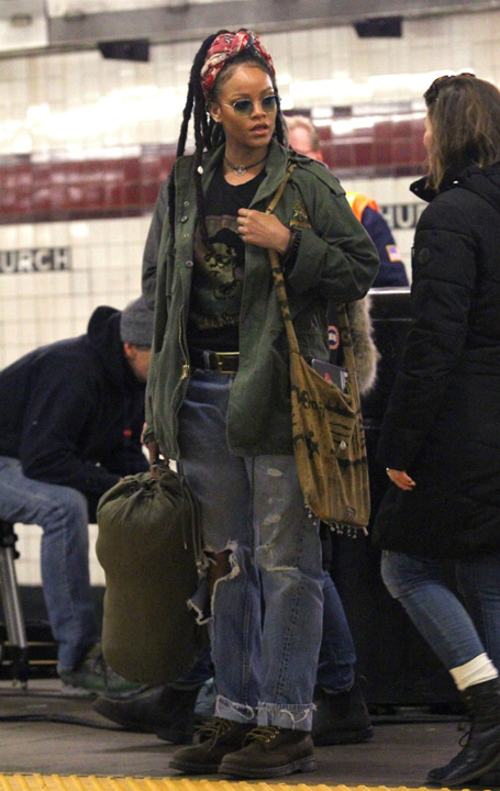 Rihanna 1 Tomboy, ultima moda a supervedetelor