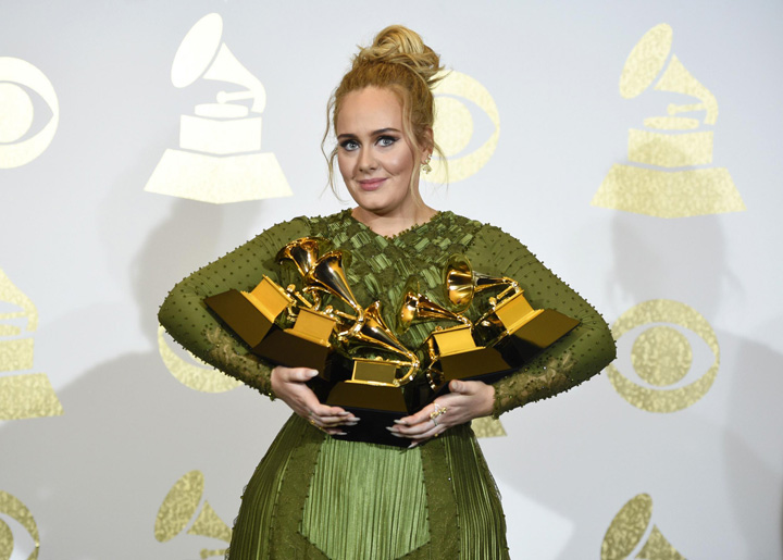 adele GRAMMY 2017: Adele a luat tot