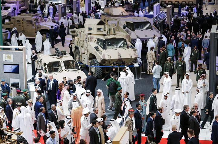 arme emirate Piata armelor a sarit in aer
