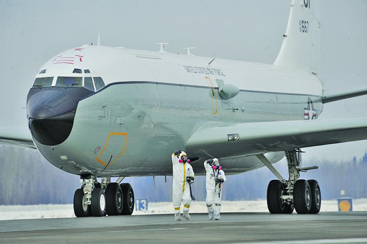 avion Europa, contaminata radioactiv