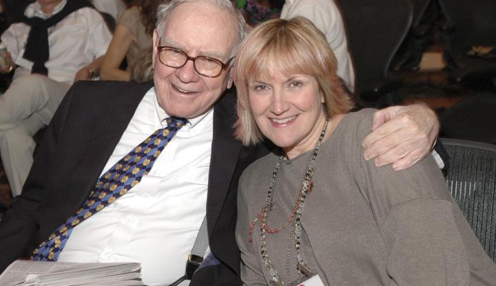 buffett susie Fiica lui Warren Buffett a aflat, la 22 de ani, ca tatal ei e miliardar