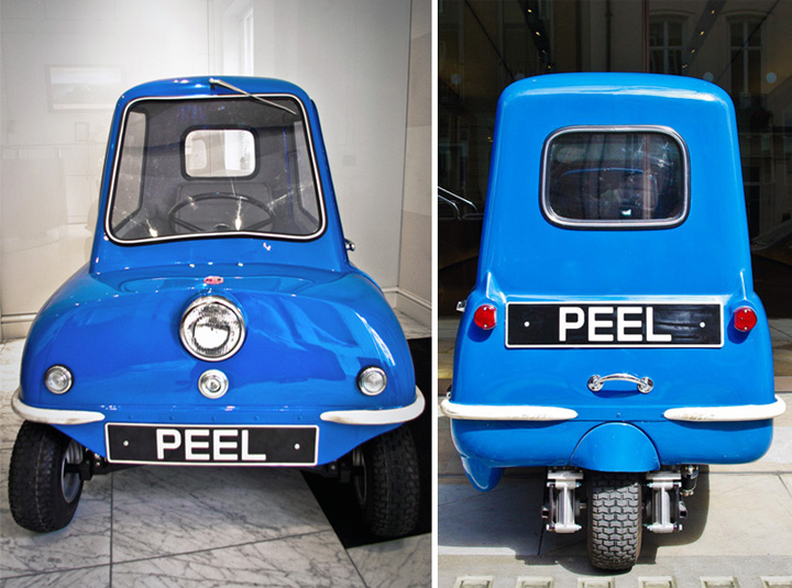 d0c6ce5f3ef34d58afa1f7c77f76337e Peel P50, cea mai mica masina din lume