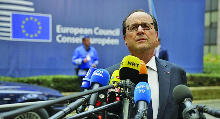 hollande De ce i e tarsa lui Trump de gala presei de la Casa Alba