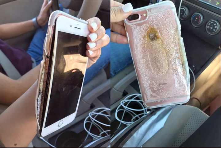 iphone 7 explodat gadgetreport.ro  1 Si  iPhone 7 explodeaza
