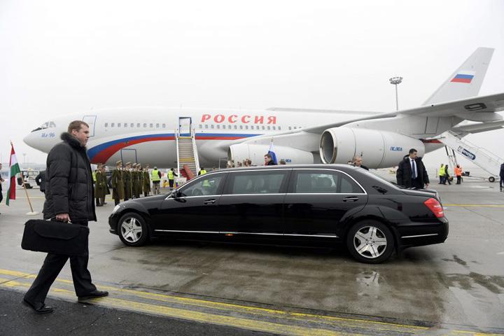 limuzina Budapesta, aliatul din UE al lui Putin