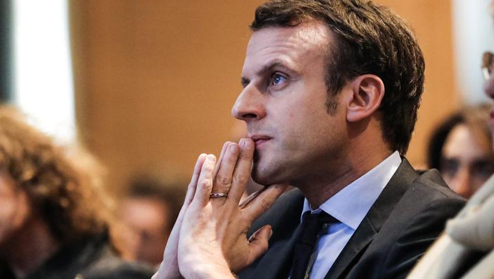 macron1 Rusia n a mancat Macron cu ceapa
