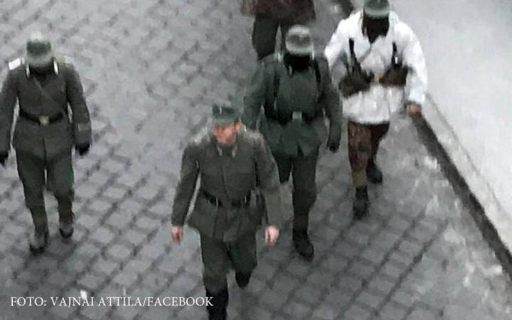 nazi 1 Nazistii, iarasi pe strazile Budapestei
