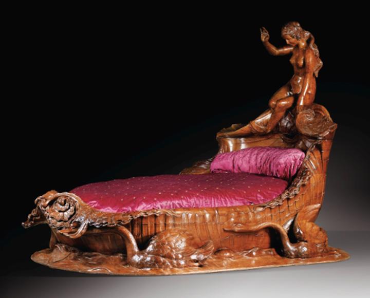patul PIVA500.500 Licitatie erotica Sotheby's cu ocazia Valentine's Day