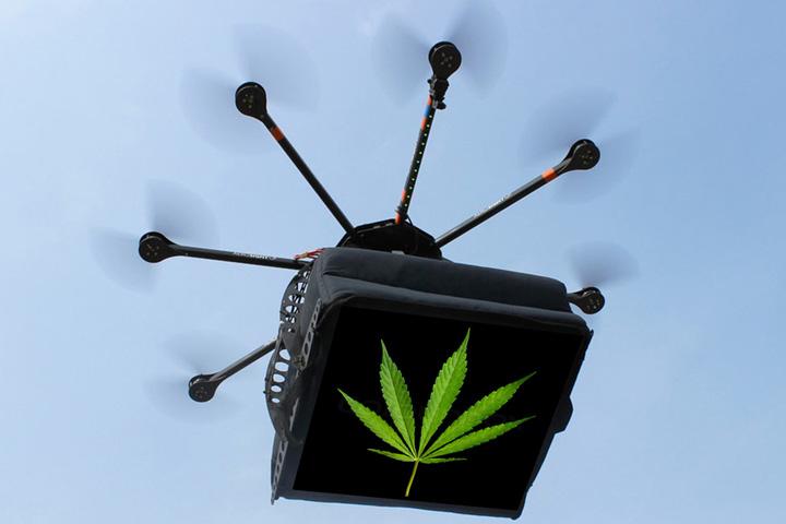 prison drone Infractorii s au modernizat: trimit drogurile cu drone in puscarie
