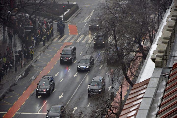 putin convoi Budapesta, aliatul din UE al lui Putin
