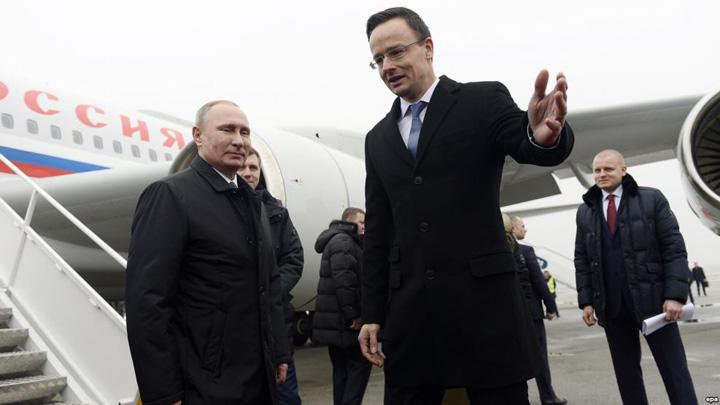 putin Budapesta, aliatul din UE al lui Putin