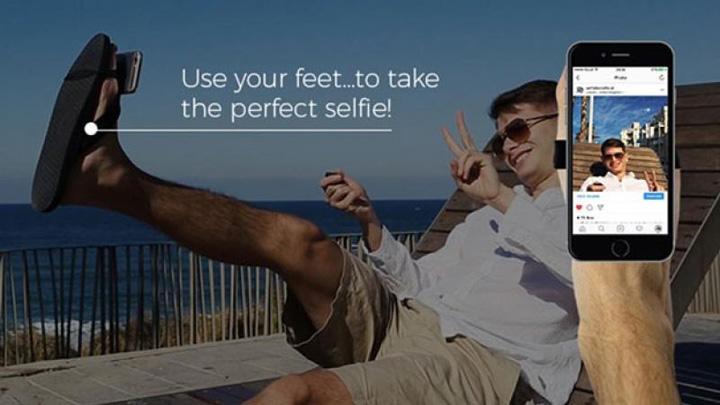 selfie feet Selfie Feet, ultima dambla a  fanilor autofotografiei