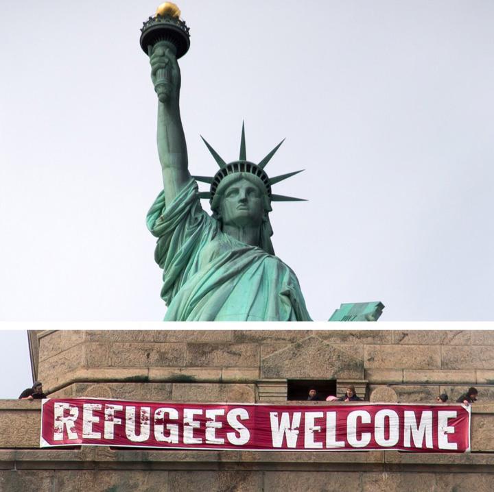 "statuie Trump incepe ""curatenia"" de primavara"