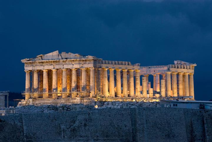 templu Defilare Gucci, interzisa la Acropole