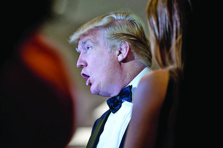 trump1 3 De ce i e tarsa lui Trump de gala presei de la Casa Alba