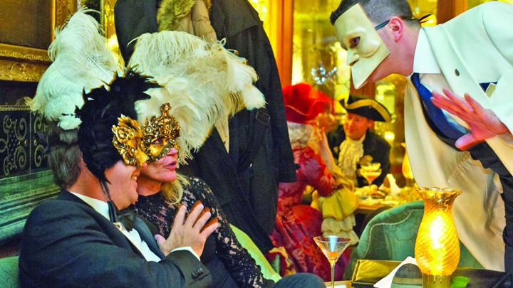 venetia 1 Carnavalul de la Venetia s a deschis sambata cu un fastuos spectacol acvatic