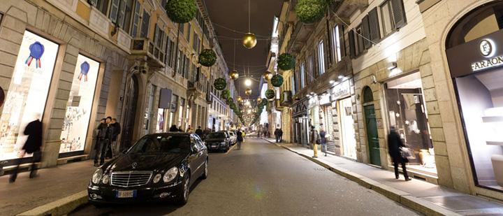 via della spiga Milano, noua capitala a Italiei