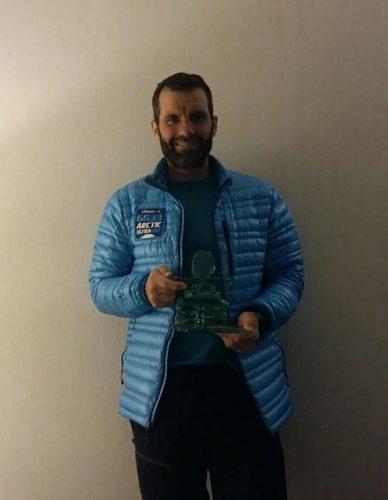 17264303 1369184743116781 8554116058077804730 n useriu 388x500 Primit ca un campion la revenirea in tara,dupa ultramaratonul arctic. Tiberiu Useriu: Cel mai dificil moment a fost startul!