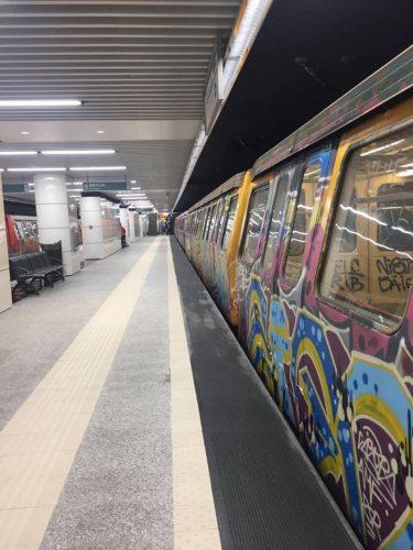 17554273 1974693349426211 7073512091105891631 n metrou 375x500 S au deschis statiile Laminorului si Straulesti. Cu metrouri vechi
