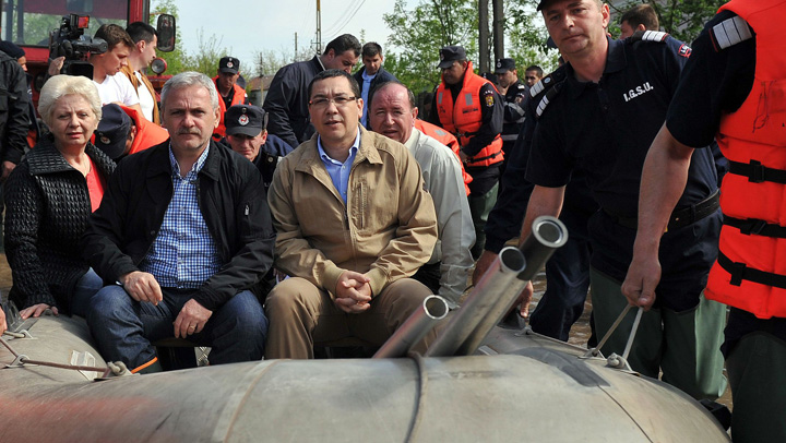 Dragnea Ponta inundatii Macel in PSD
