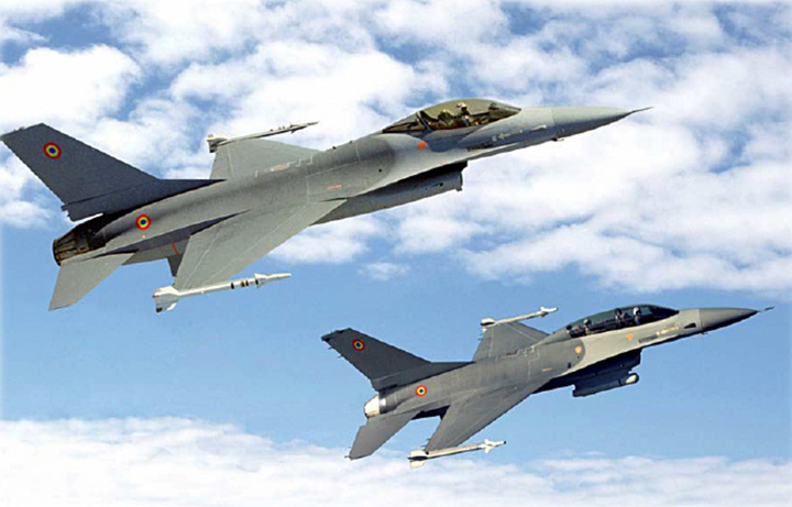 F16 Serviciile se leapada de UE pentru SUA!