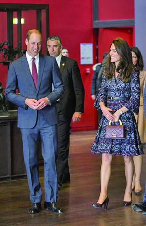 Kate Middleton Et Le Prince William Au Muse e D Orsay Kate si William, pelerinaj la Paris