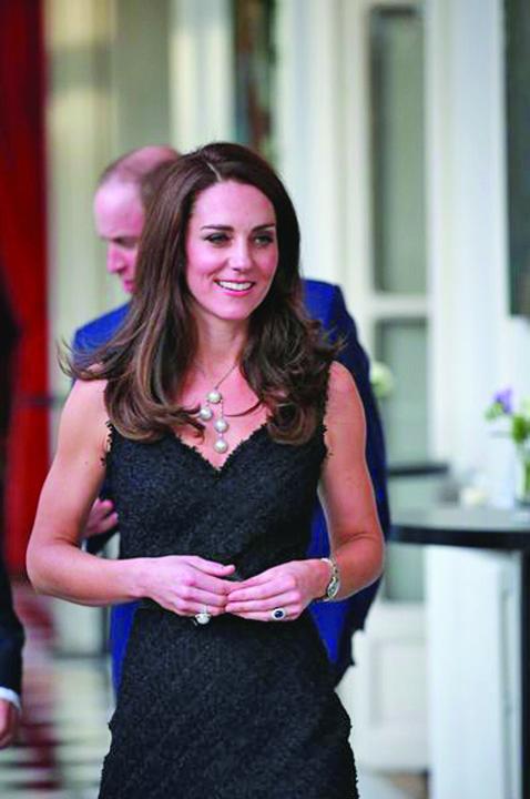 Le prince William et Kate Middleton lancent Les Voisins a l Ambassade britannique a Paris 1 Kate si William, pelerinaj la Paris