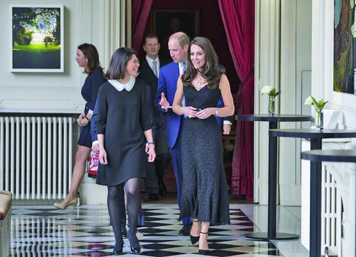 Le prince William et Kate Middleton lancent Les Voisins a l Ambassade britannique a Paris Kate si William, pelerinaj la Paris