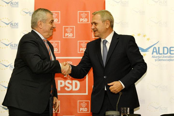 Tăriceanu Dragnea Nori in paradisul coalitiei PSD – ALDE