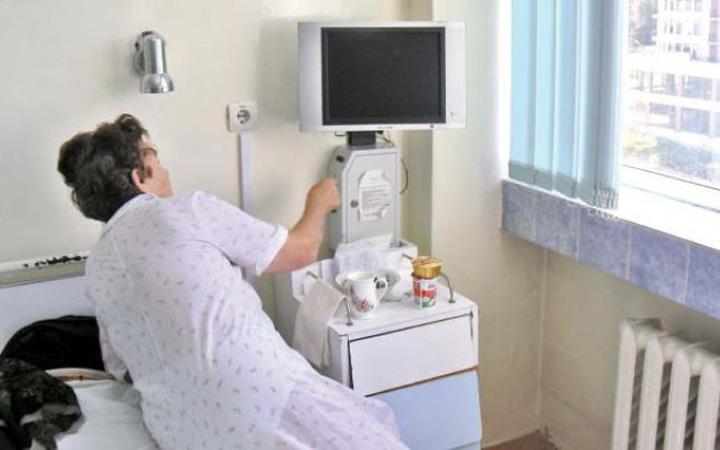 TV spital Esti internat si vrei sa te uiti la televizor? Baga 10 lei, caci nimic nu i gratis pe lumea asta
