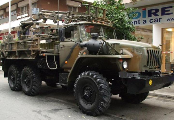URAL Camion 1 Camion de lupta de 5 stele