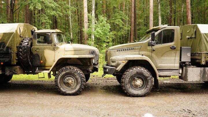 URAL X Camion de lupta de 5 stele