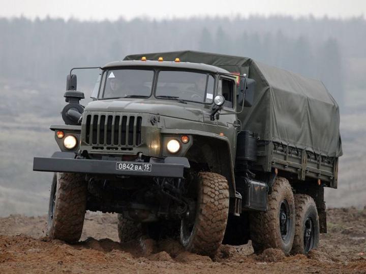 URAL2 Camion de lupta de 5 stele