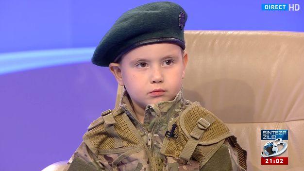 adri Adrian, pustiul soldat care recita impresionant Scrisoarea III (VIDEO)