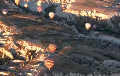 baloane Zeci de raniti in urma unei plimbari cu baloane cu aer cald, in Turcia