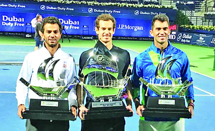 campioniidubai Murray , Tecau si Rojer au cucerit Dubai ul!