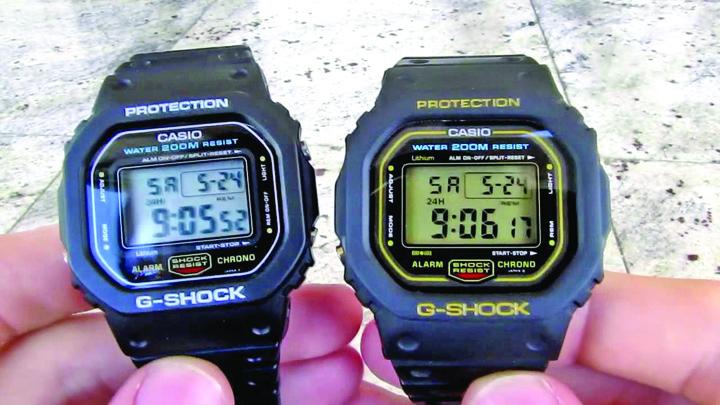 dw 5600 Ce ceasuri a aprobat NASA pentru spatiu