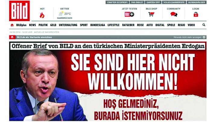 erdogan bild Erdogan pune hackerii pe ghiauri
